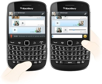 wassap blackberry