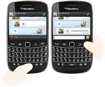 wassap blackberry