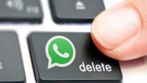 eliminar mensajes wassap